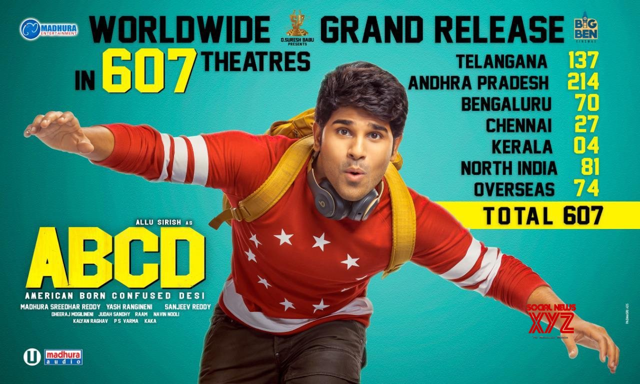 ABCD Is Releasing Across In 607 Theaters World Wide