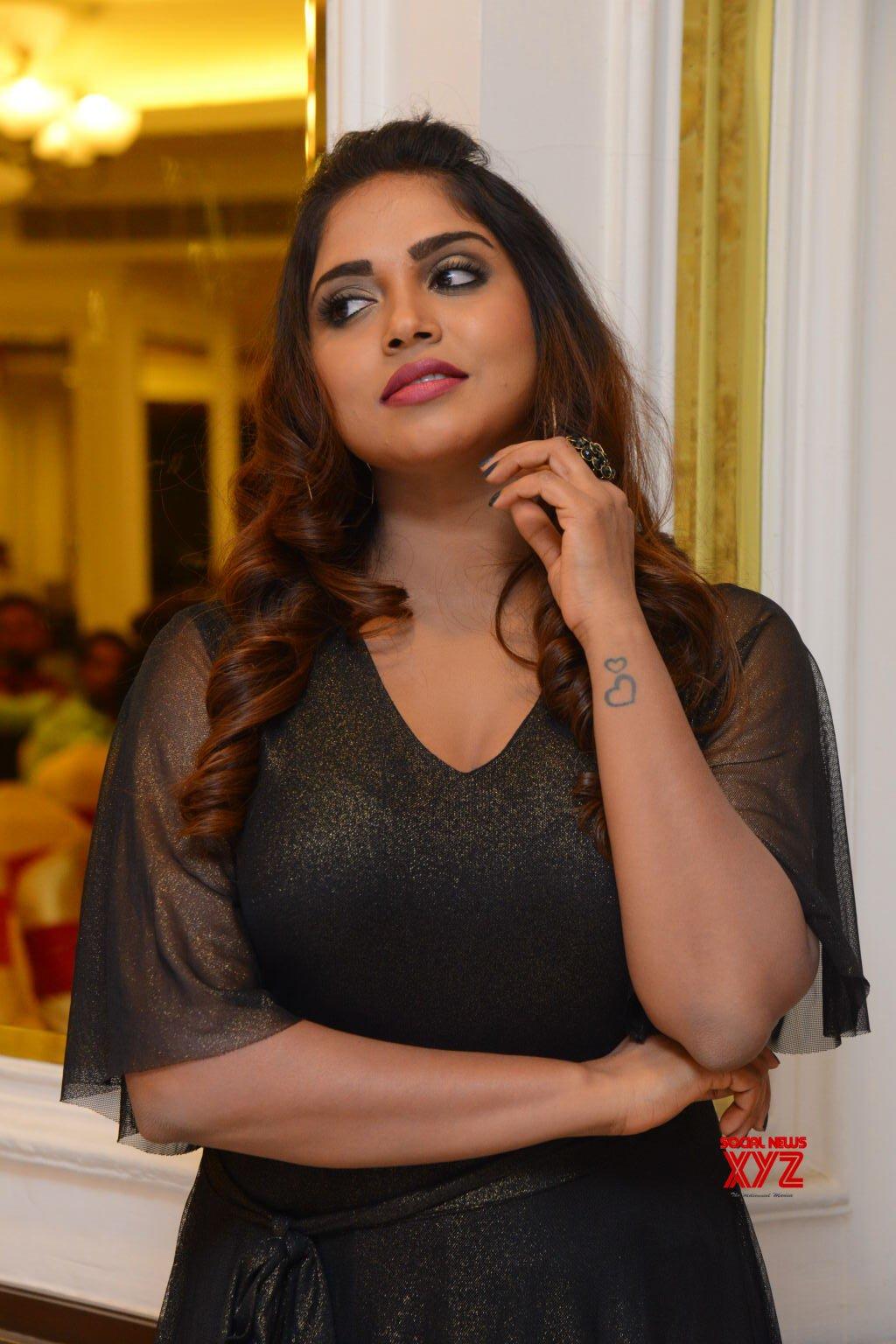 Actress Karunya Chowdary Stills From Erra Chira Movie Teaser Launch Gallery