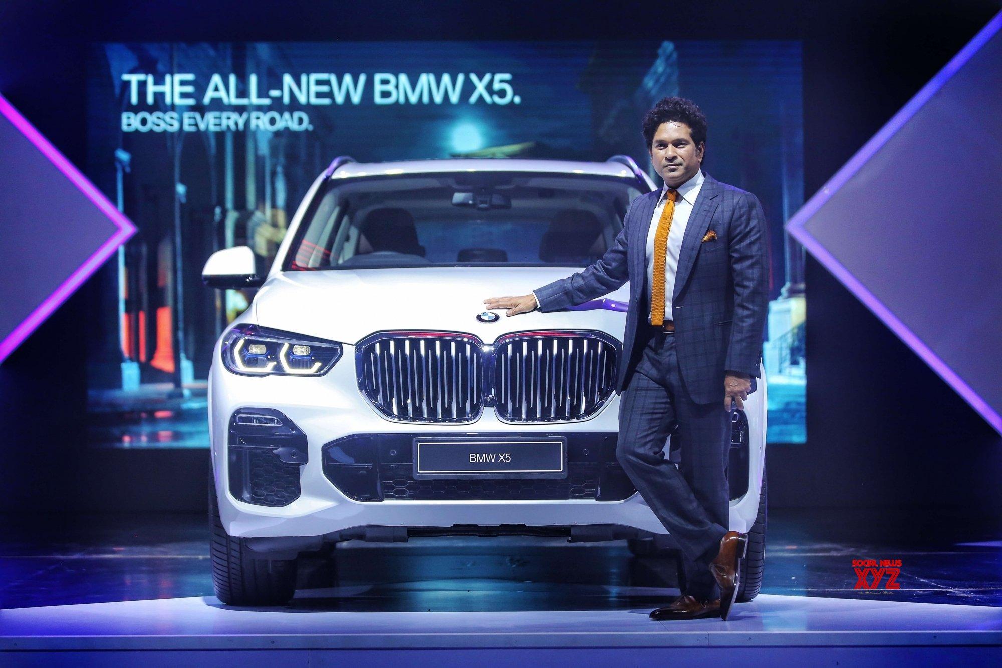 Sachin Tendulkar launches all-new BMW X5