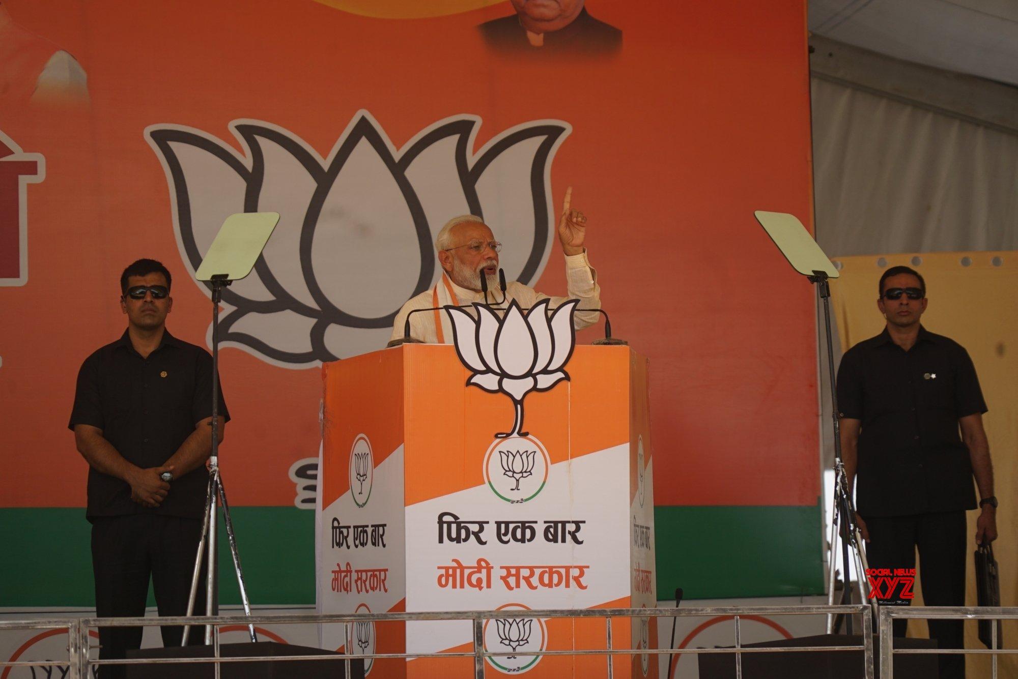 Mau: PM Modi at public rally in UP (Batch - 2) #Gallery
