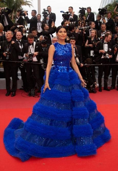 Cannes: Farhana Bodi at 2019 Cannes Film Festival in France #Gallery