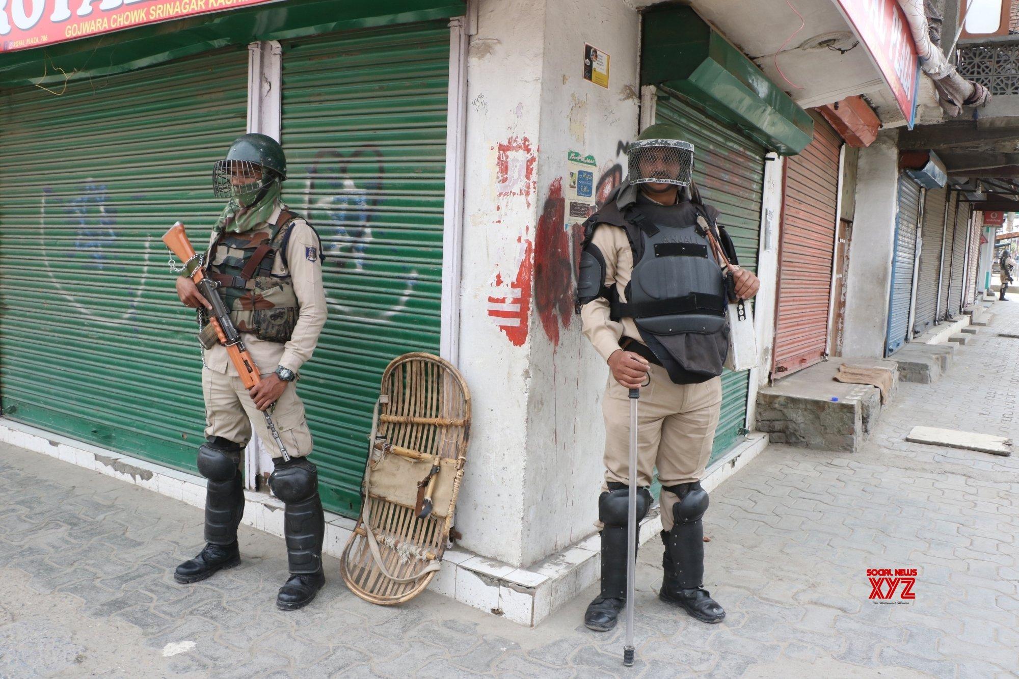 Srinagar: Separatist call shutdown over civilian killings in J&K #Gallery