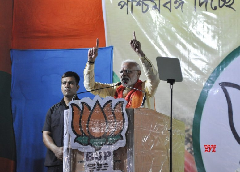 Modi accused of holding rally on scamster's ground