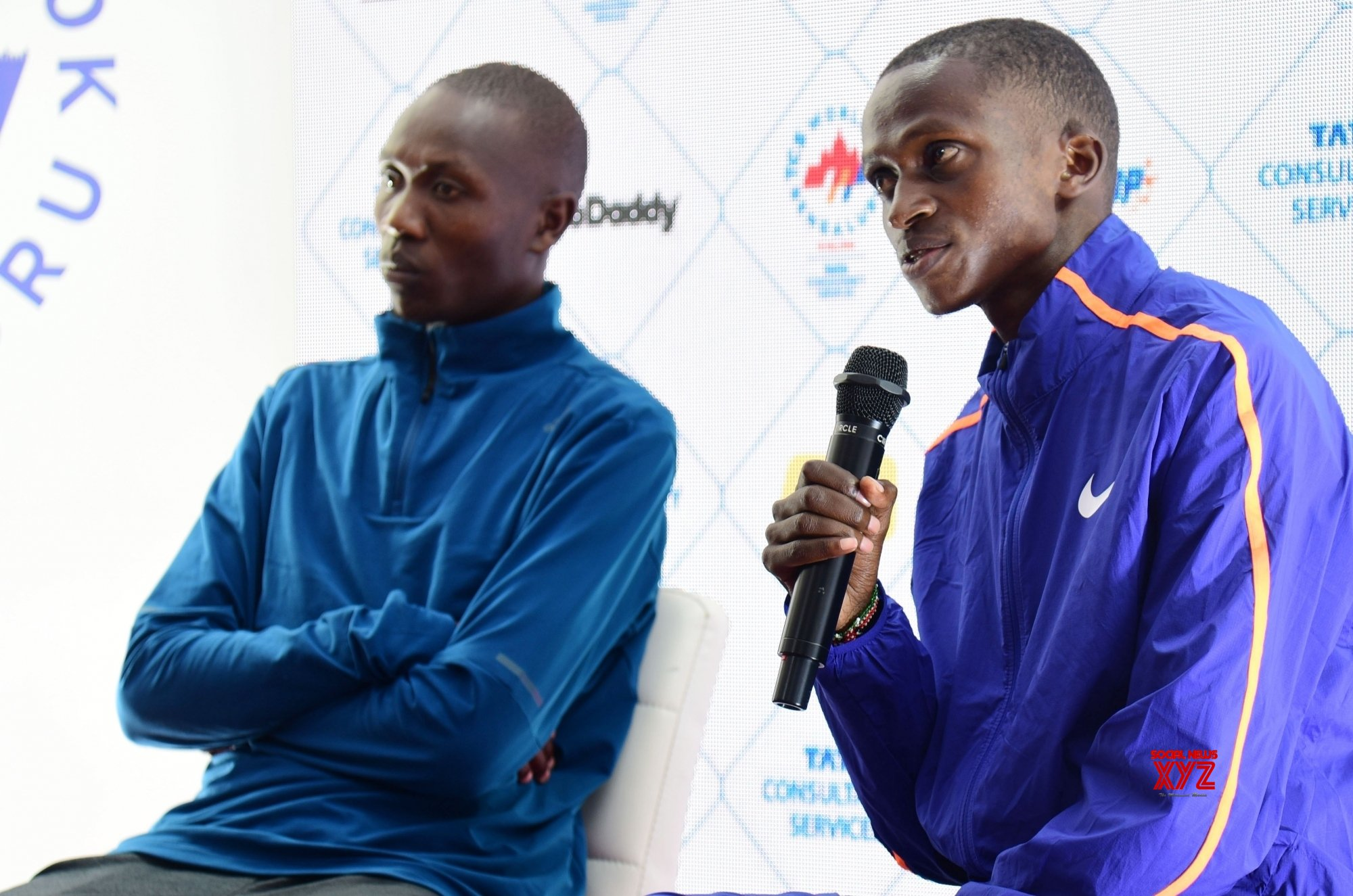 Bengaluru: Kenyan athletes' press conference #Gallery