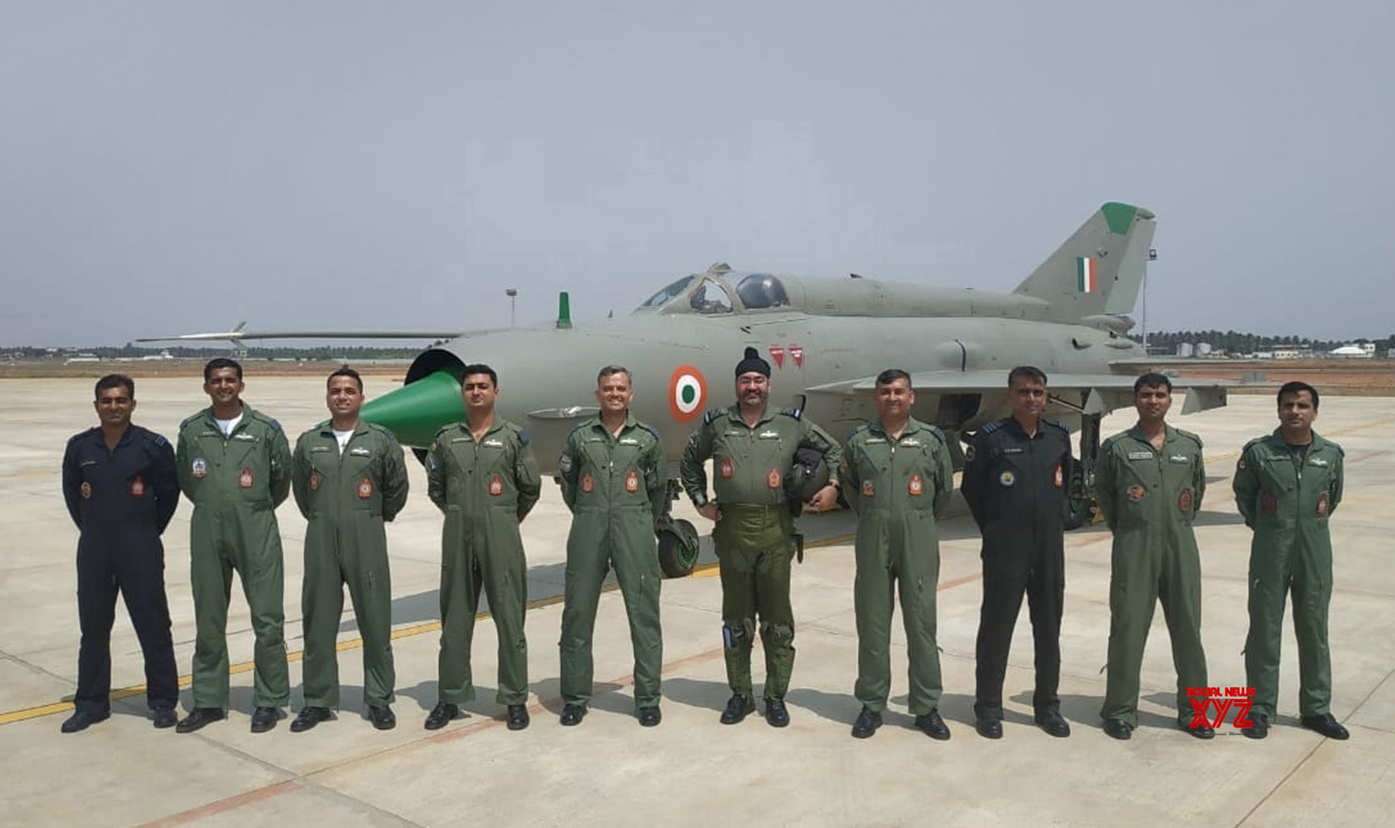 Sulur (Tamil Nadu): Marshal B.S. Dhanoa visits Sulur Air Force Station #Gallery