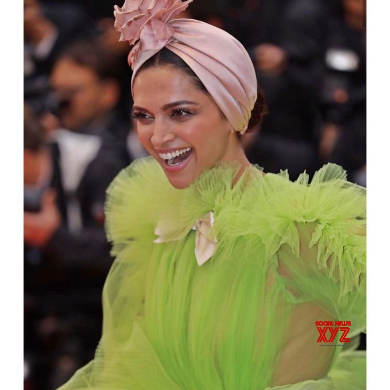 Deepika is living a lime green life in Cannes