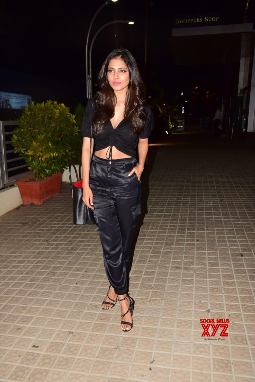 Actress Malavika Mohanan Hot Stills From The Screening Of India's Most Wanted Movie