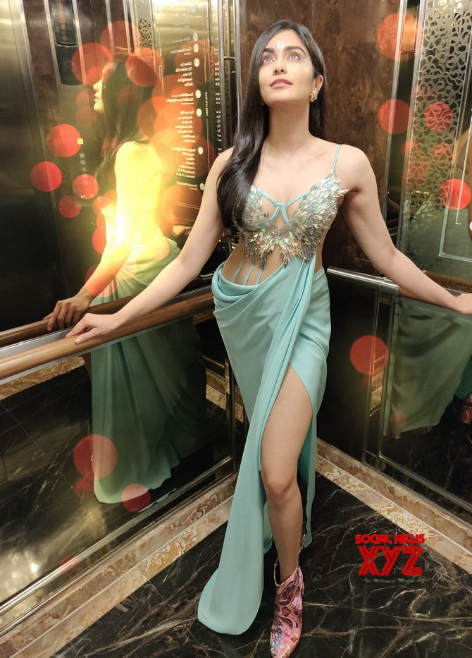 Adah Sharma Sizzles In Her New Outfit