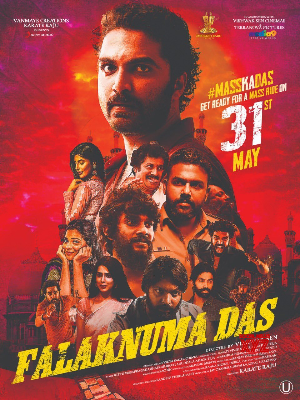 Falaknuma Das Movie Release Date Posters