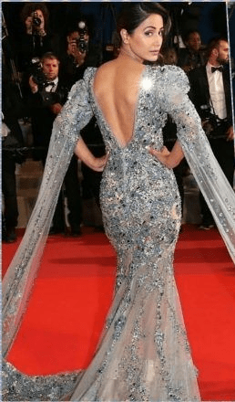 Indian Beauties Skin Shows At Cannes 2019