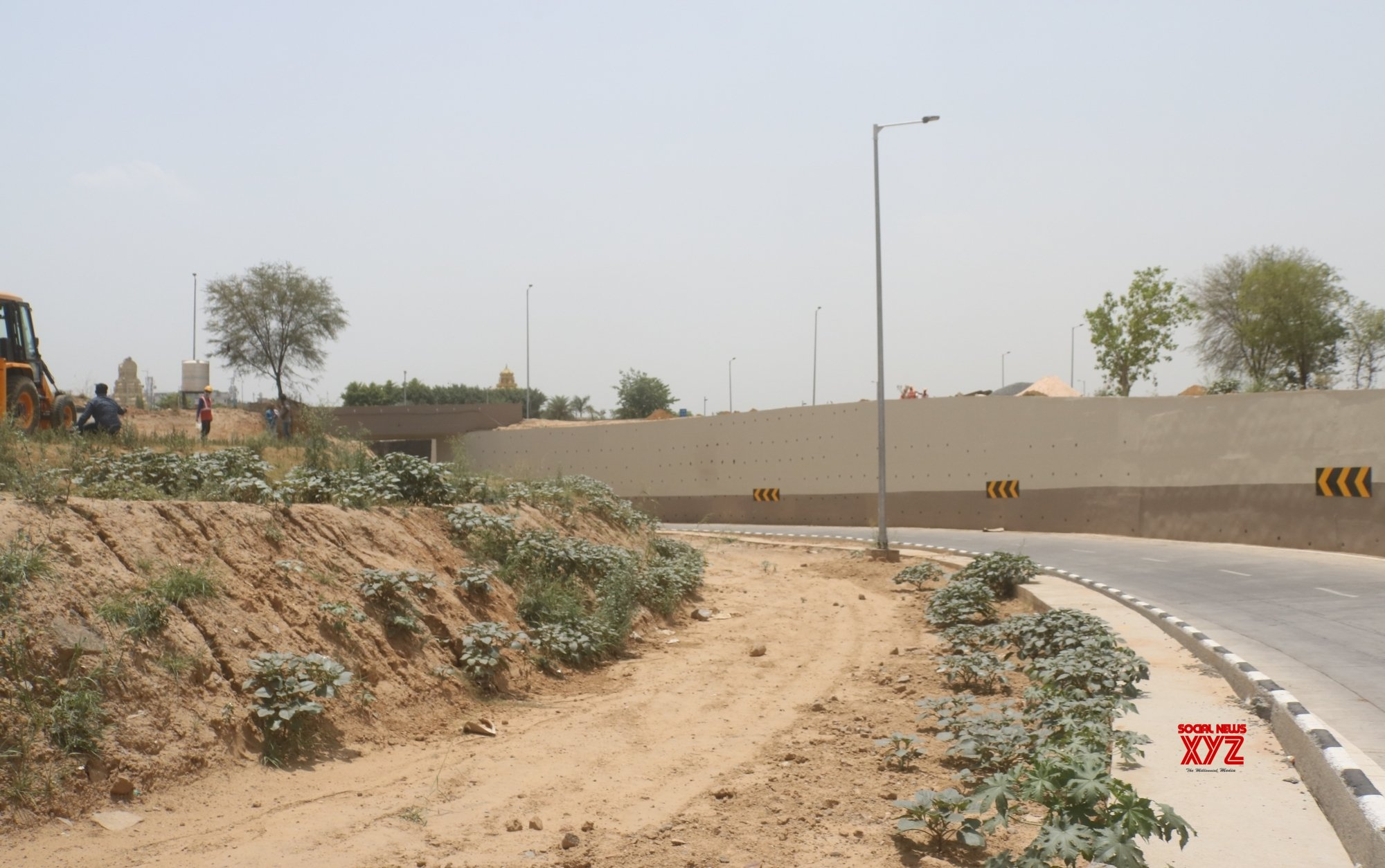 New Delhi: Under - construction Mahipalpur underpass #Gallery