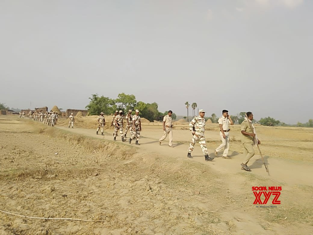 Bhojpur (Bihar): 2019 Lok Sabha elections - ITBP conducts confidence building march #Gallery