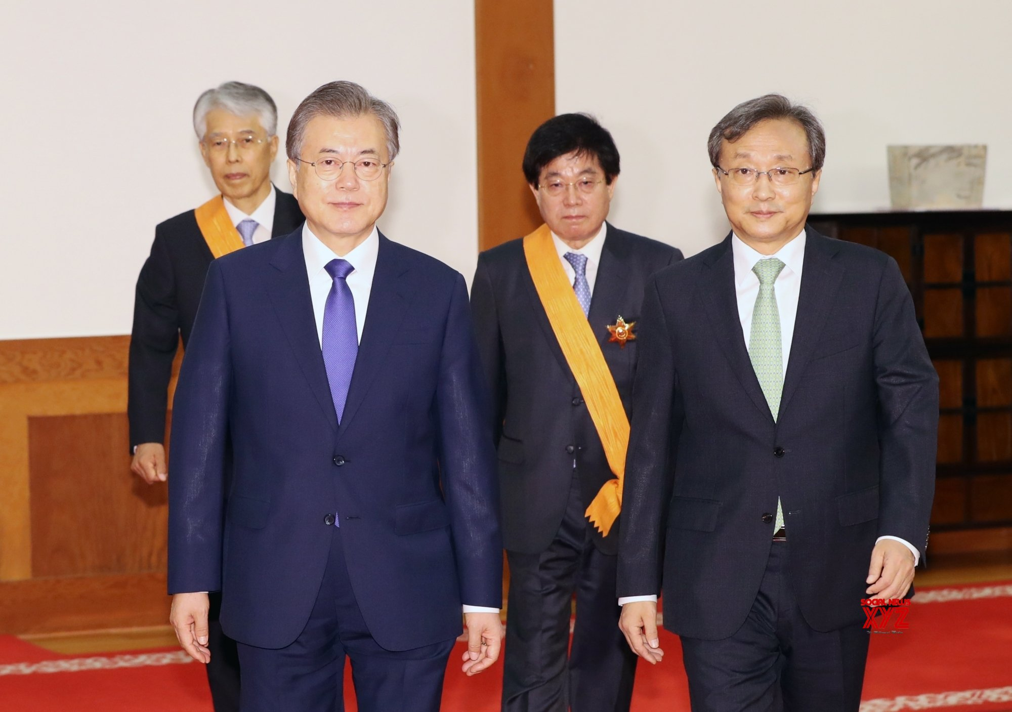 Seoul: Moon Jae - in confers state medals on retired justices #Gallery