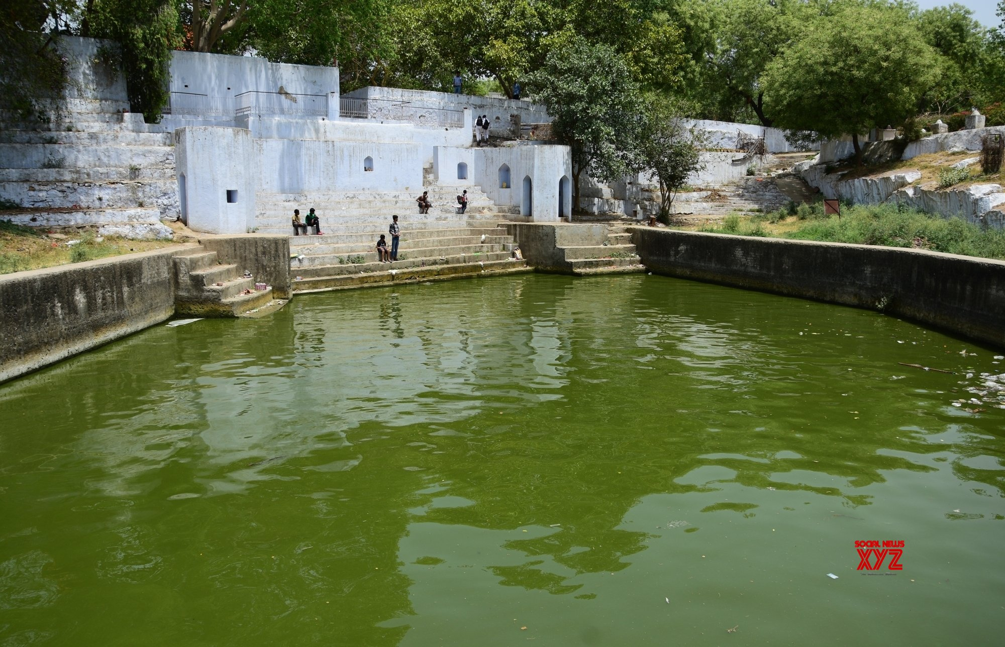 Once a dumping ground, Neela Hauz now a soothing site