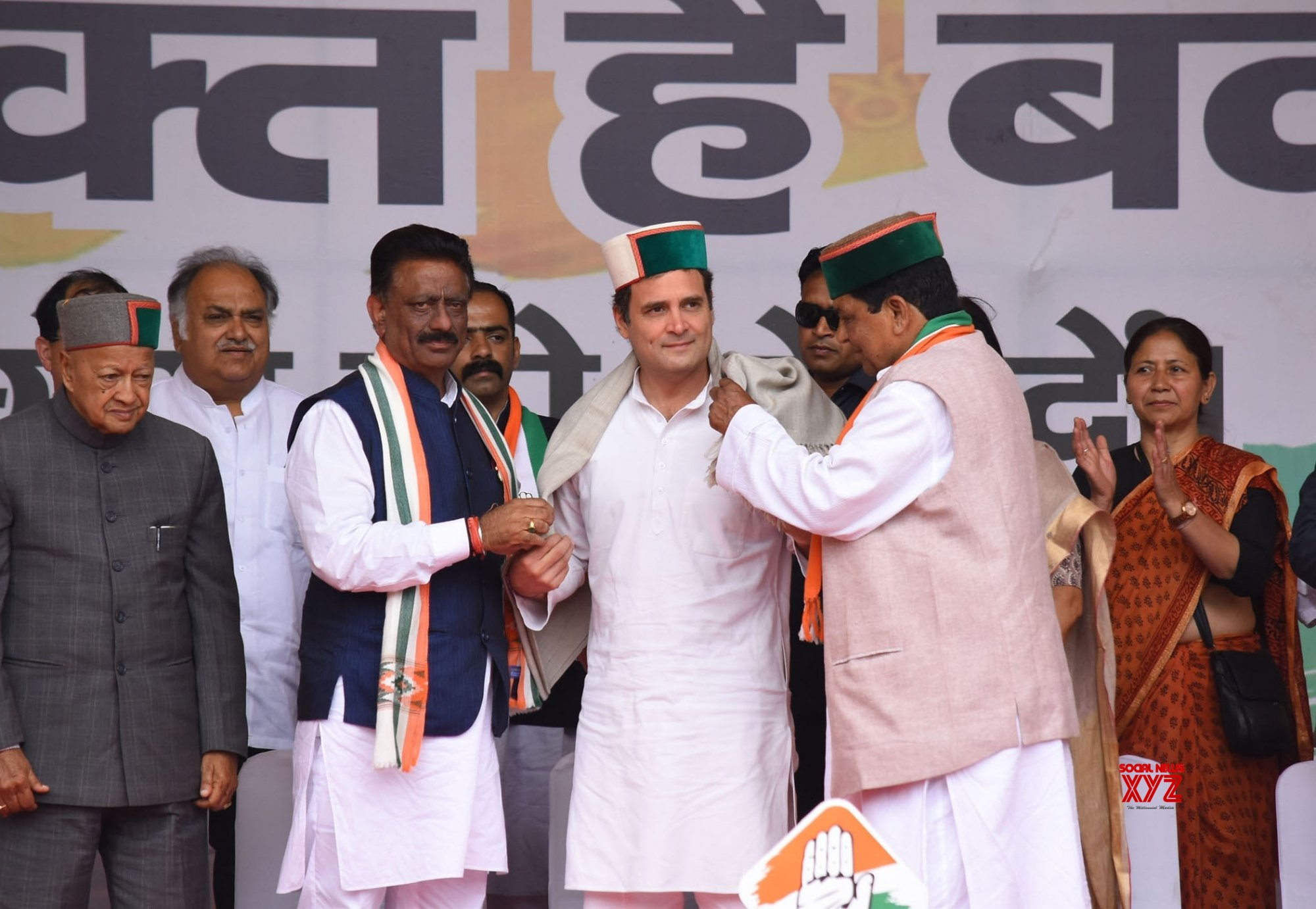 Solan: 2019 Lok Sabha elections - Rahul Gandhi at a public rally in Himachal Pradesh (Batch - 2) #Gallery