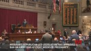 Missouri abortion ban draws Capitol protests  (Video)