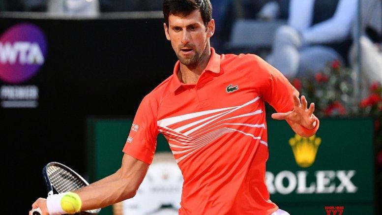 Djokovic beats Schwartzman to reach Italian Open final