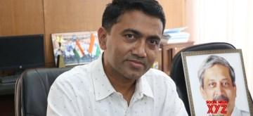 Pramod Sawant. (File Photo: IANS)