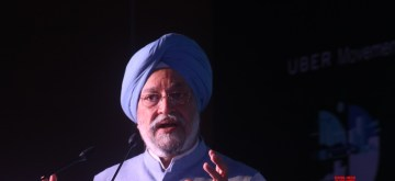Hardeep Singh Puri. (File photo: IANS)
