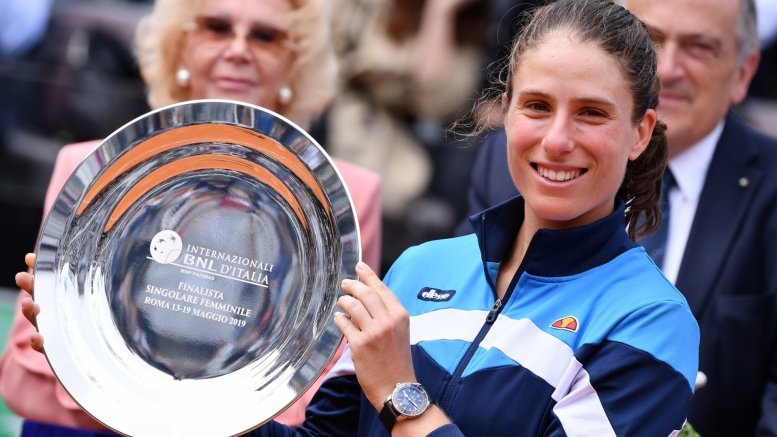 Konta secures maiden French Open last-8 appearance