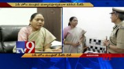 DGP Gowtham Sawang meeting with AP Home Minister Sucharitha - TV9 (Video)