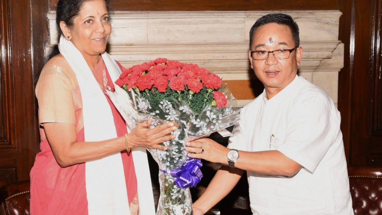 Sikkim CM seeks bailout from financial crisis