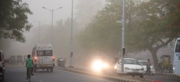 Patna: Patna witnesses storm on June 12, 2019. (Photo: IANS)