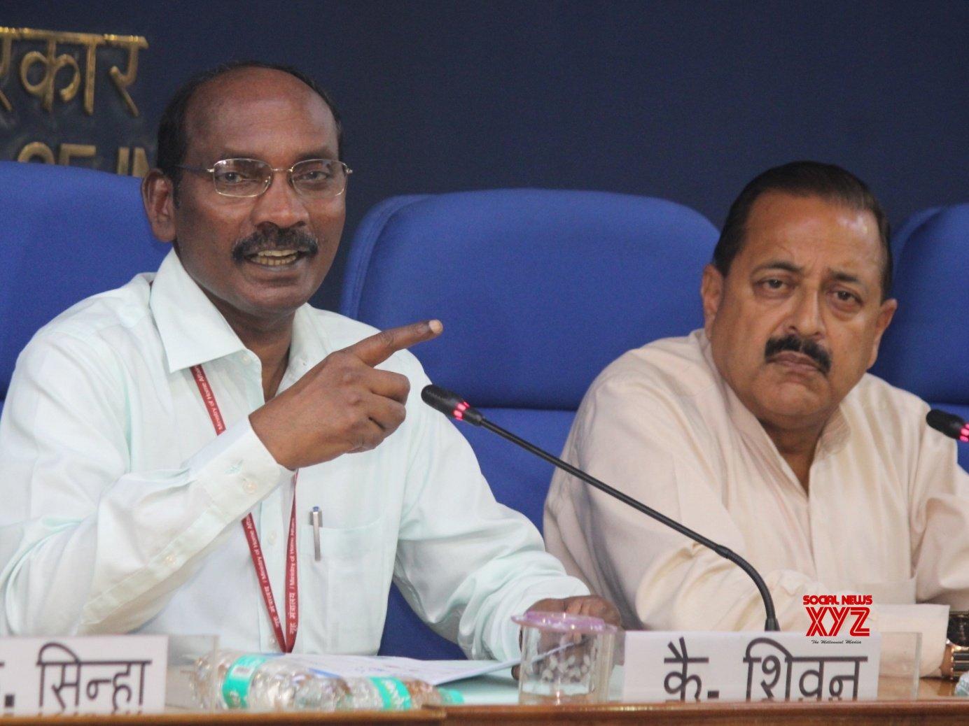 New Delhi: K. Sivan, Jitendra Singh's press conference #Gallery