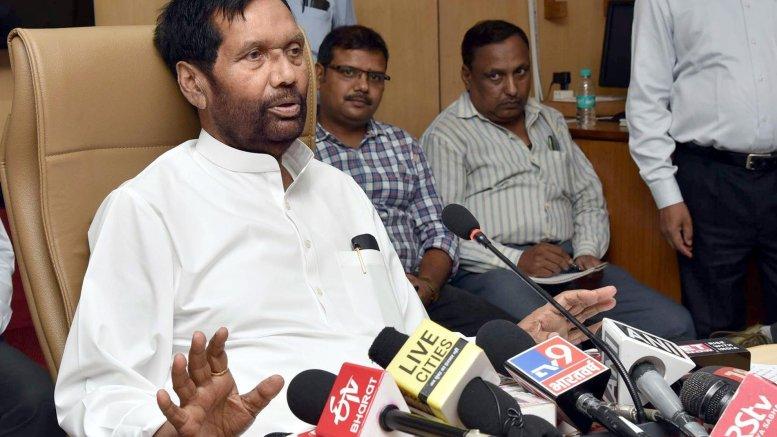 Ram Vilas Paswan's LJP splits in Bihar