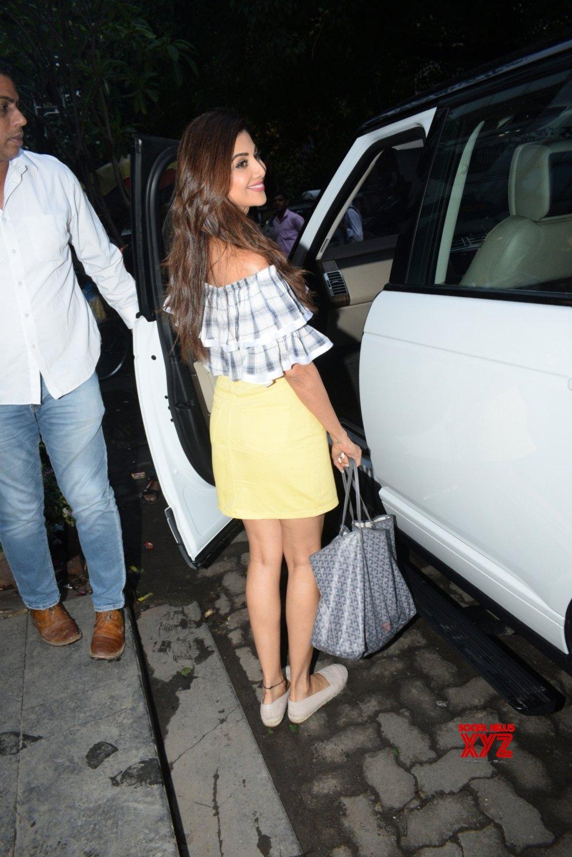 Mumbai: Shilpa Shetty seen at Andheri #Gallery