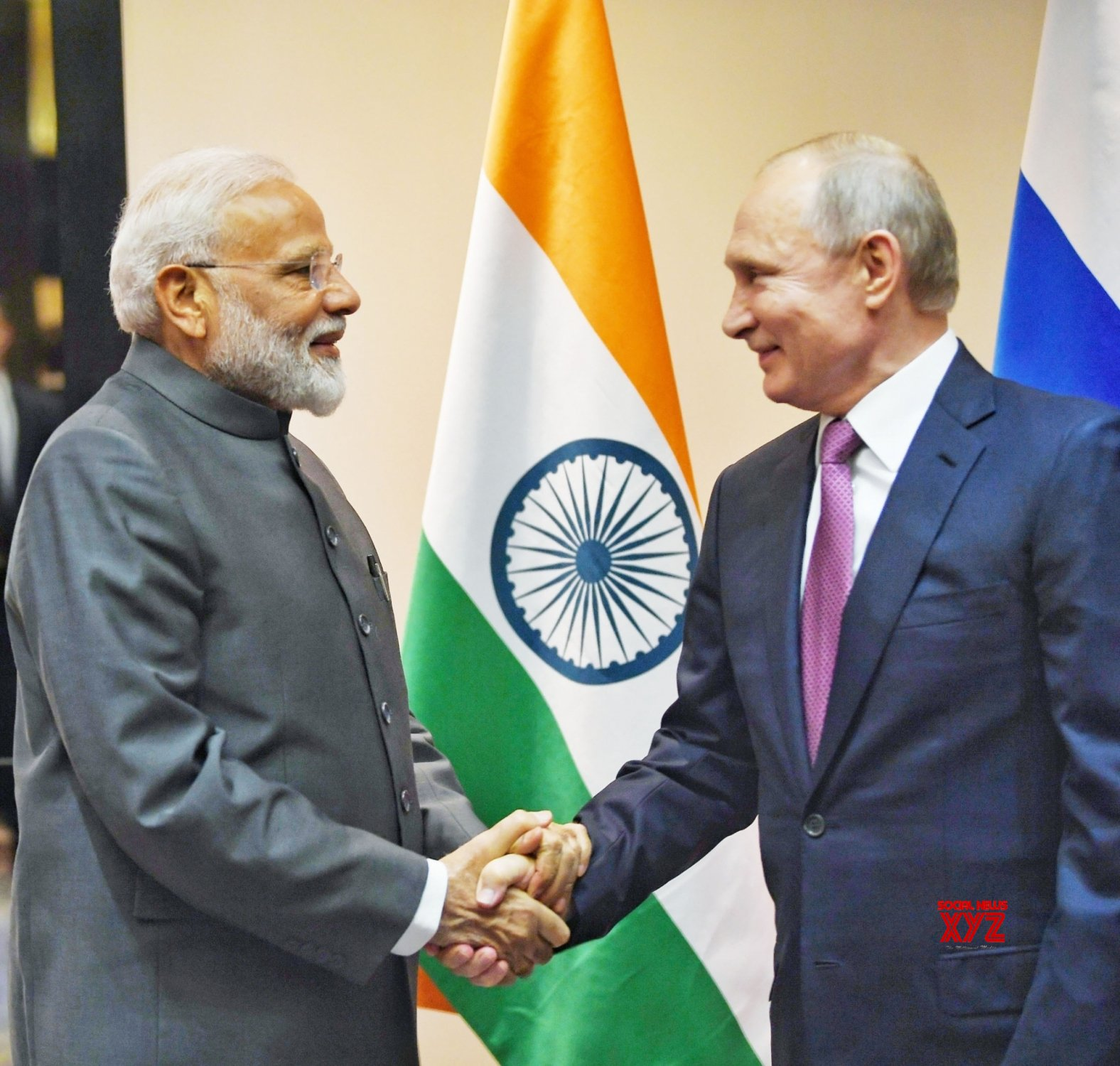 Bishkek (Kyrgyzstan): PM Modi meets Russian President Vladimir Putin #Gallery