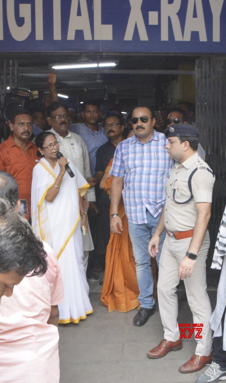 Kolkata: Mamata reaches Kolkata's SSKM Hospital amid doctor's strike #Gallery