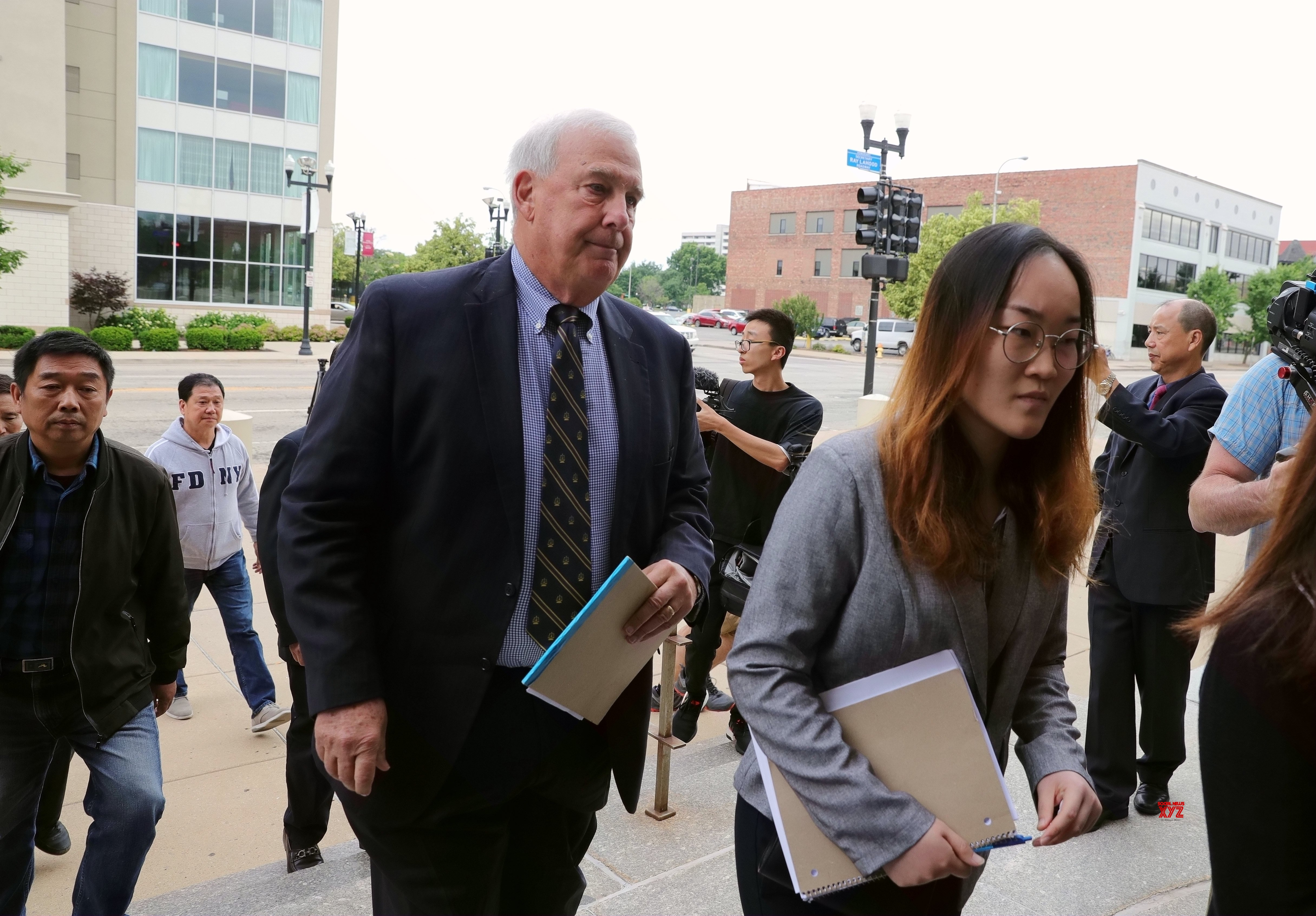 U.S. - ILLINOIS - PEORIA - CHINESE SCHOLAR SLAYINIG TRIAL - OPENING STATEMENTS #Gallery