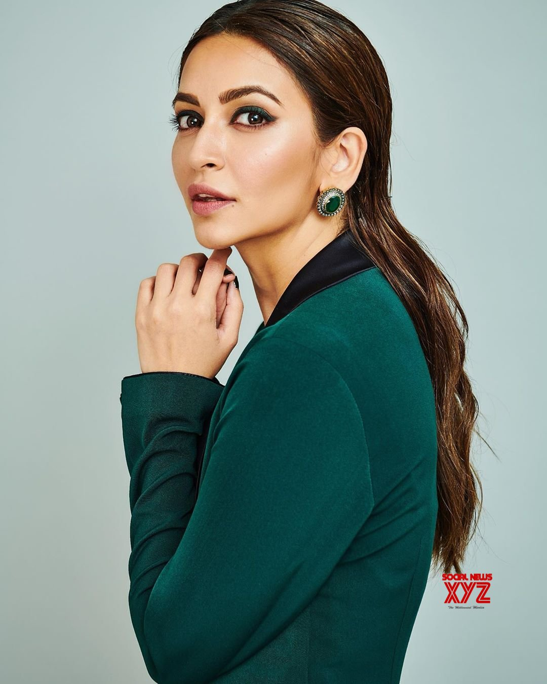Actress Kriti Kharbanda Hot Stills In Rebecca Dewan