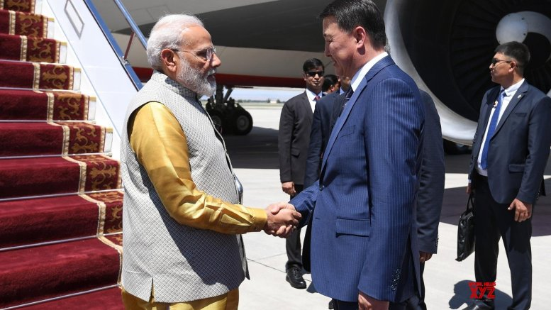 Modi in Bishkek : To meet Chinese, Russian Presidents