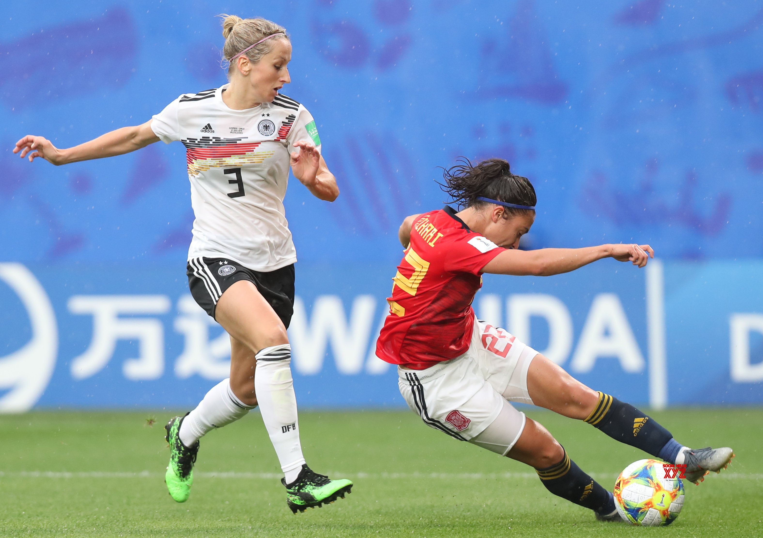 FRANCE - VALENCIENNES - SOCCER - FIFA WOMEN'S WORLD CUP - GROUP B - GER VS ESP #Gallery