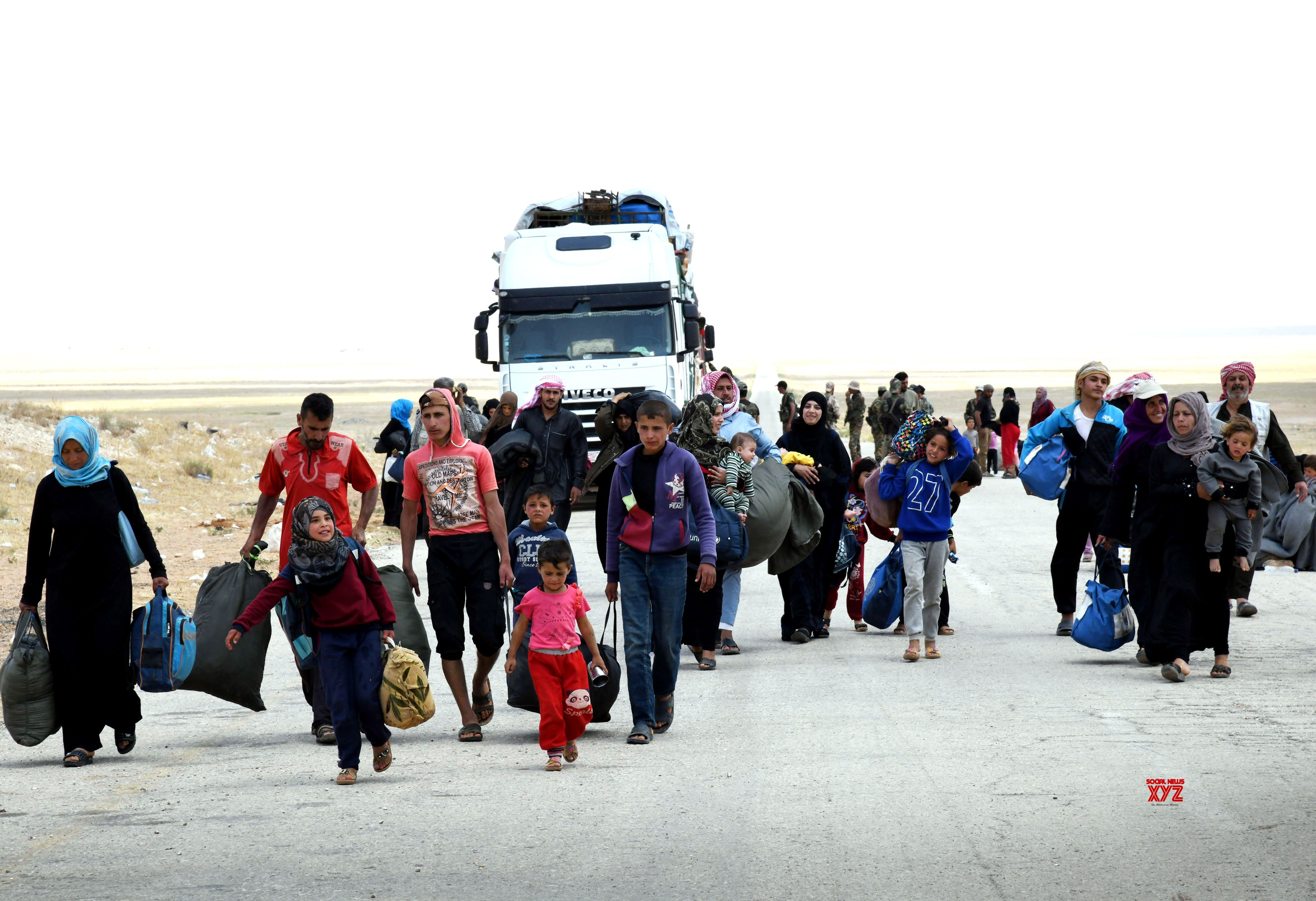 SYRIA - HOMS - REFUGEES - RUTURN #Gallery