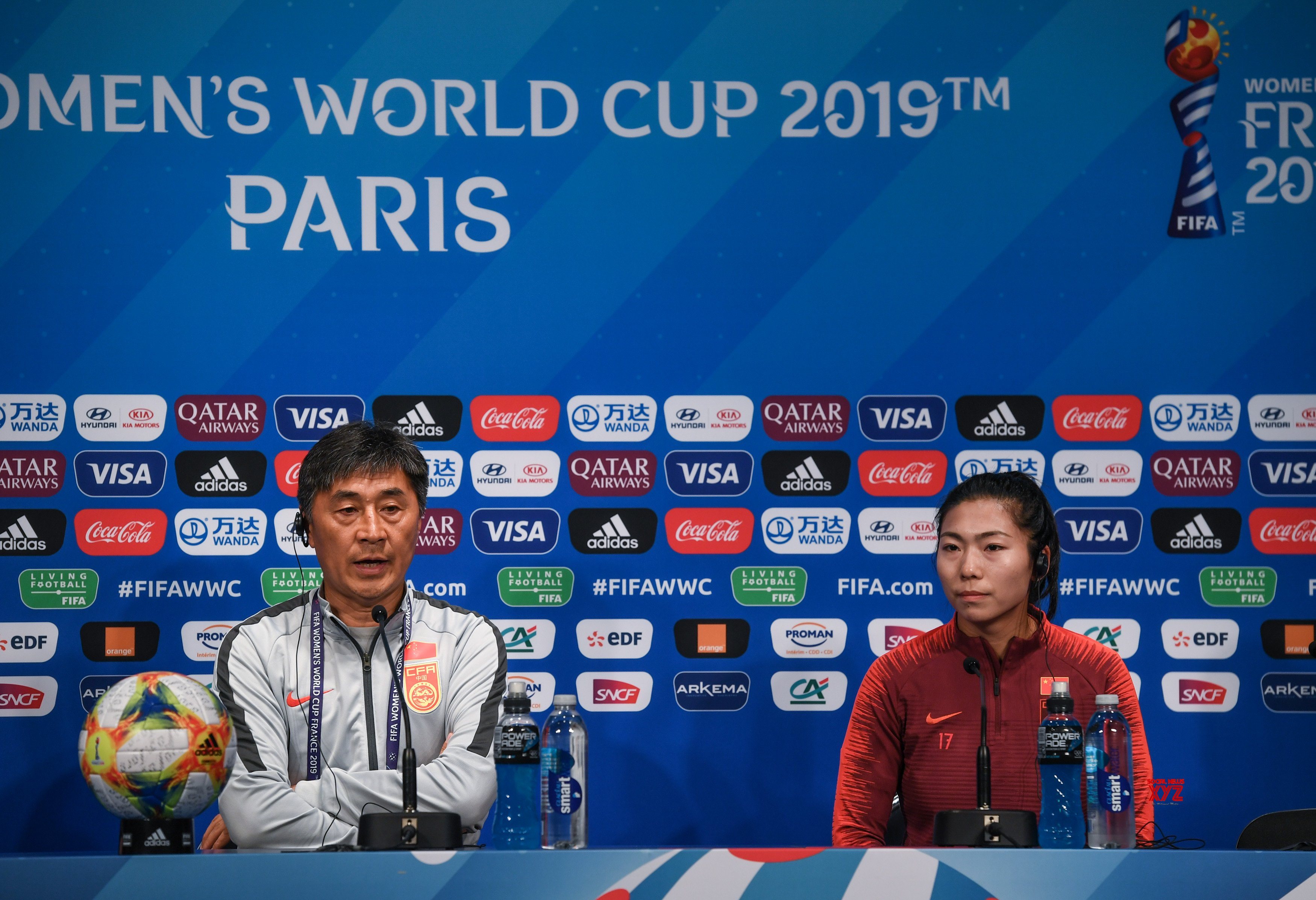 FRANCE - PARIS - 2019 FIFA WOMEN'S WORLD CUP - GROUP B - CHINA - OFFICIAL PRESS CONFERENCE #Gallery