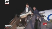 Blues bring first Stanley Cup home to St. Louis  (Video)