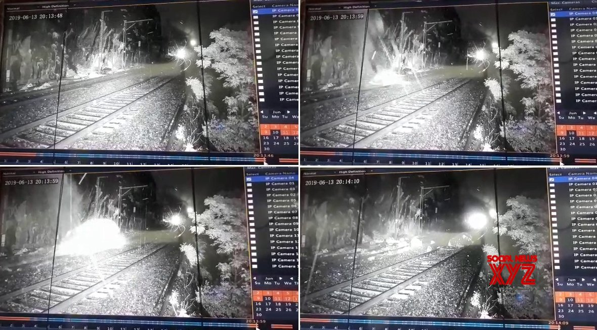 Lonavala: CCTVs installed in Maharashtra Monkey hill averts railway accident #Gallery