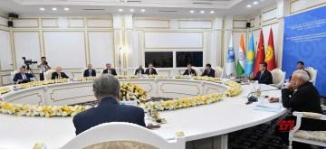 Bishkek: Prime Minister Narendra Modi attending the Restricted Session of the Shanghai Cooperation Organization (SCO) Summit in Bishkek, Kyrgyzstan on June 14, 2019. (Photo: IANS/PIB)