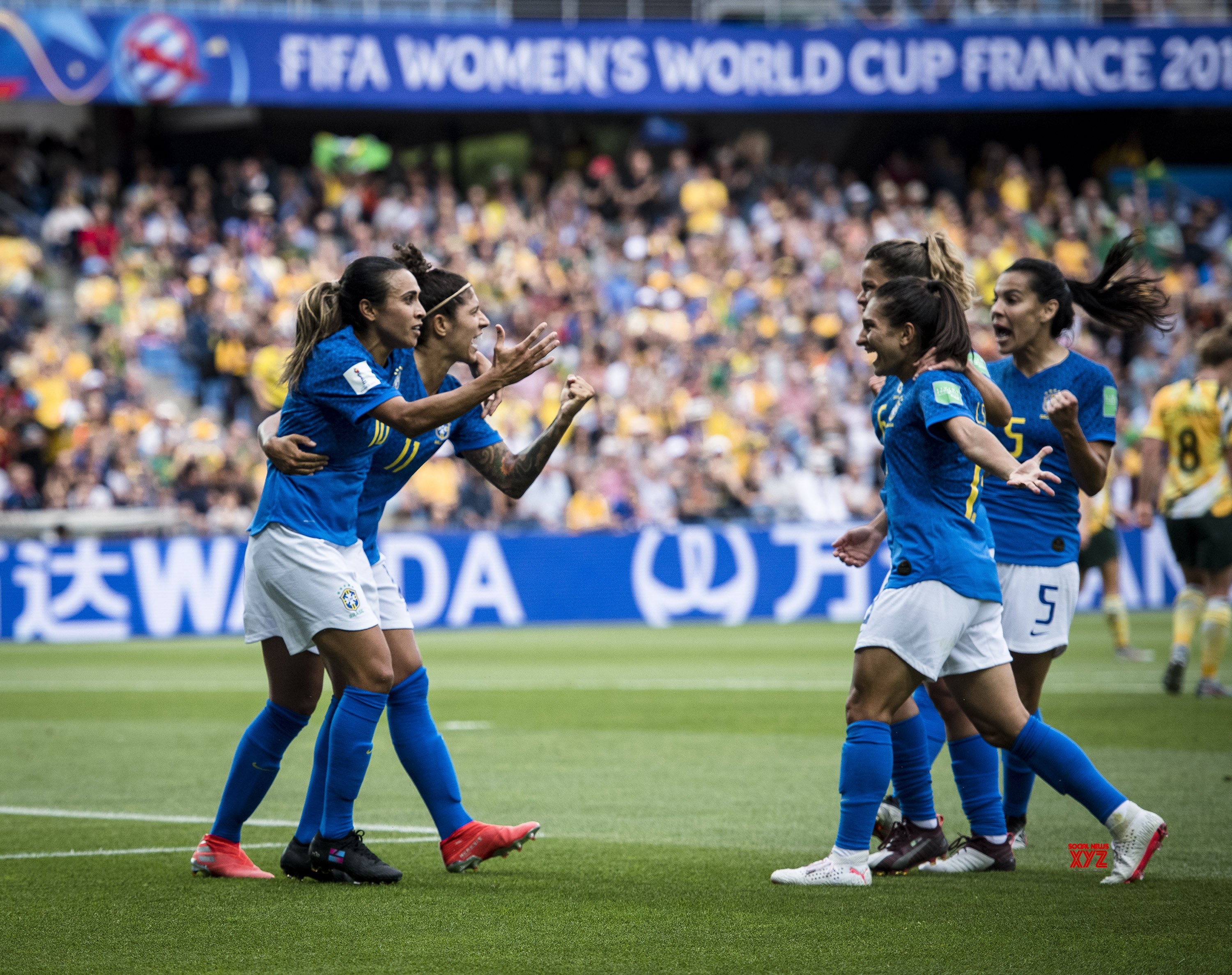 (SP)FRANCE - MONTPELLIER - 2019 FIFA WOMEN'S WORLD CUP - GROUP C - BRAZIL VS AUSTRALIA #Gallery