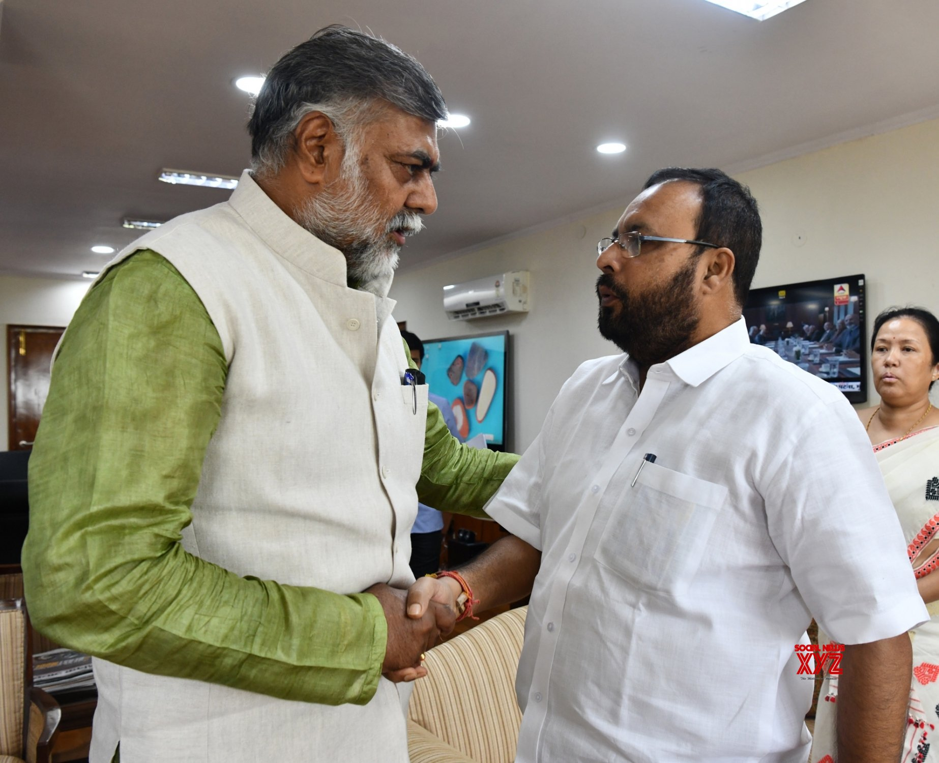 New Delhi: Assam Culture Minister meets Prahalad Singh Patel #Gallery