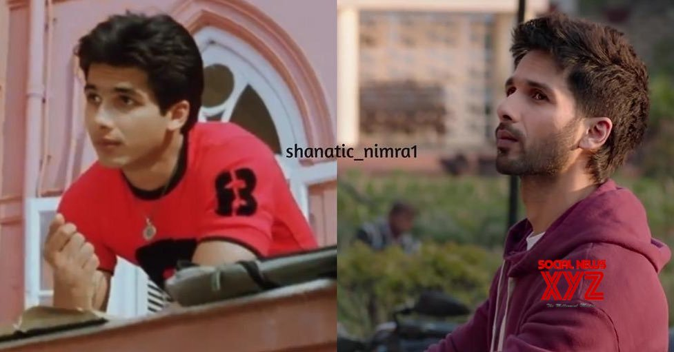 Mira shares Shahid Kapoor's 'then and now' image