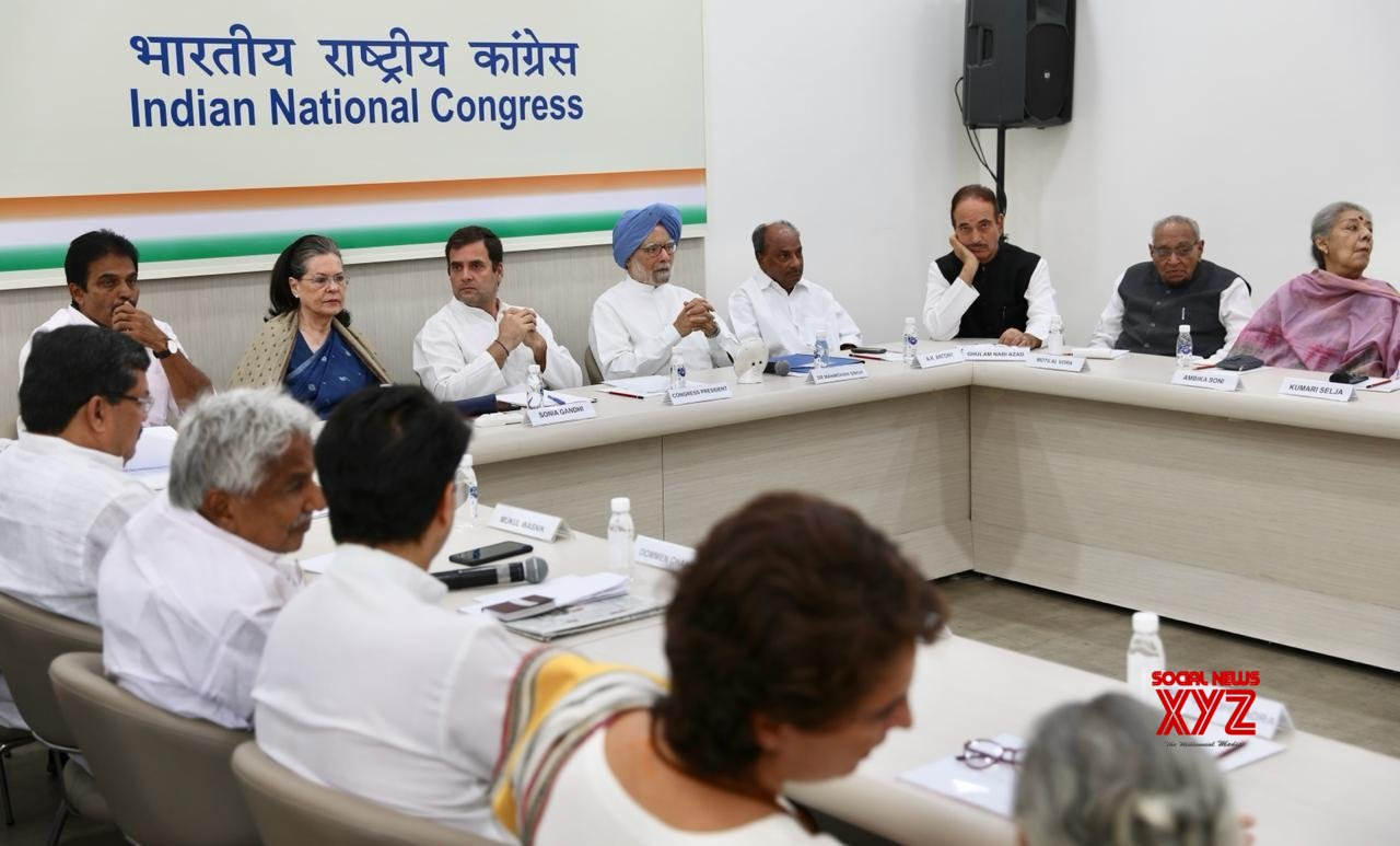 Antony, Venugopal decline to take up Congress chief's post