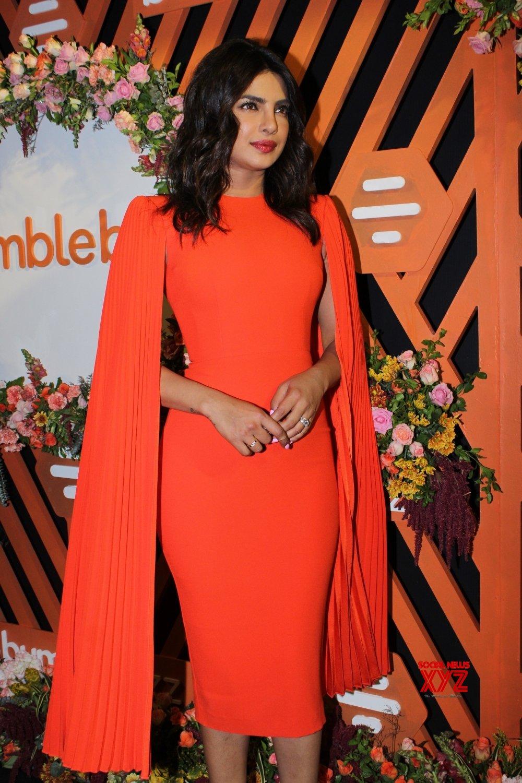 Mumbai: Priyanka Chopra Jonas launches #FindThemOnBumble campaign (Batch - 2) #Gallery
