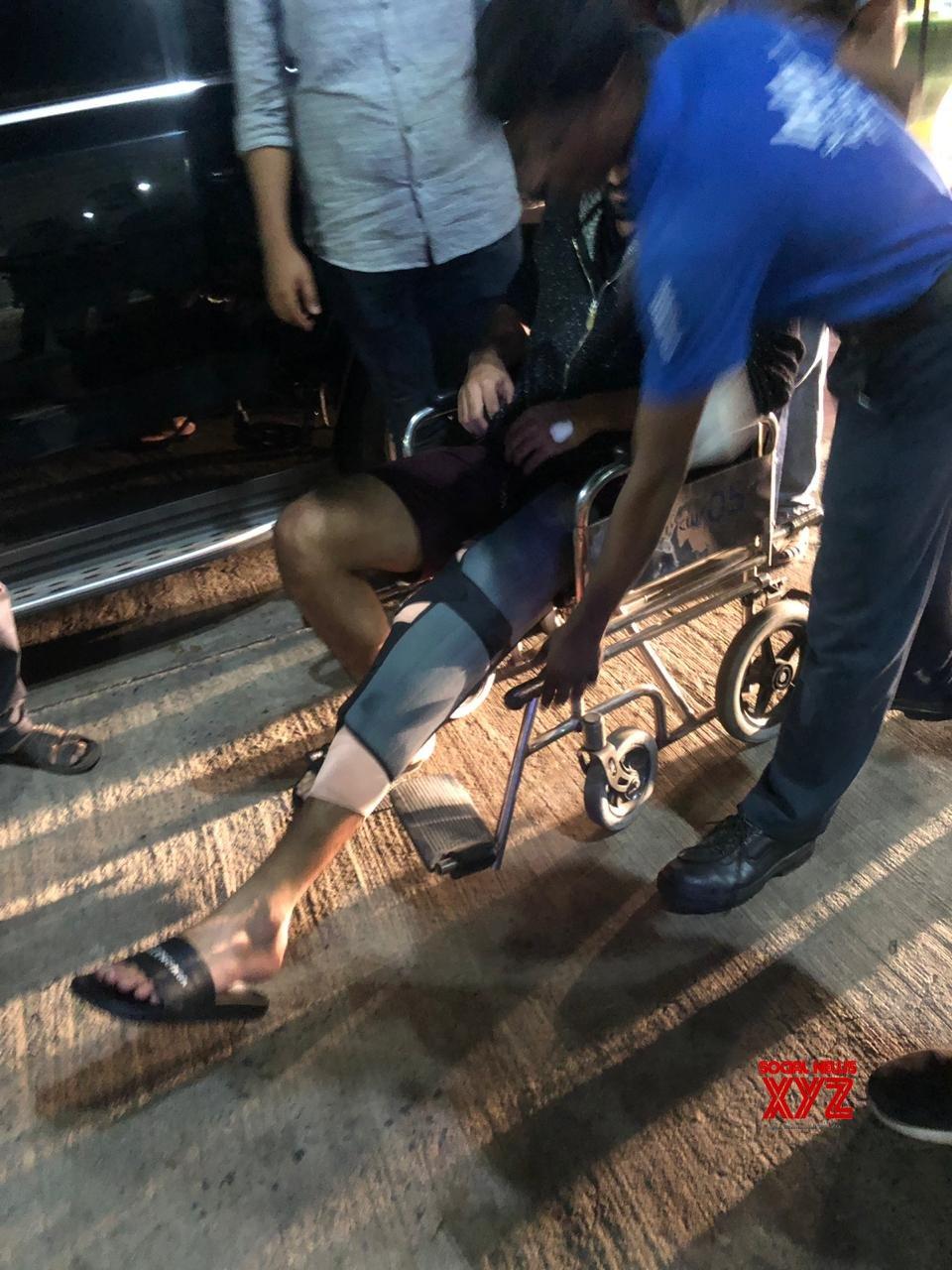 Naga Shaurya Got Heavily Injured Today While Shooting In Vizag