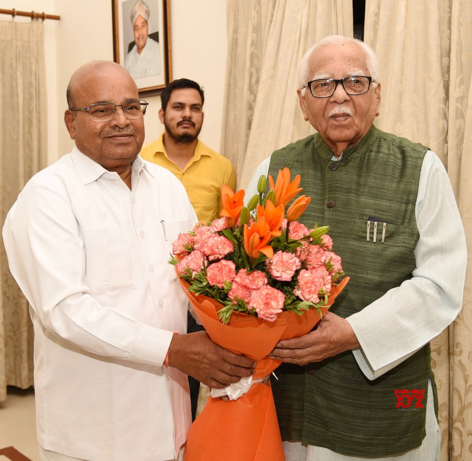 New Delhi: UP Governor meets Thaawar Chand Gehlot #Gallery
