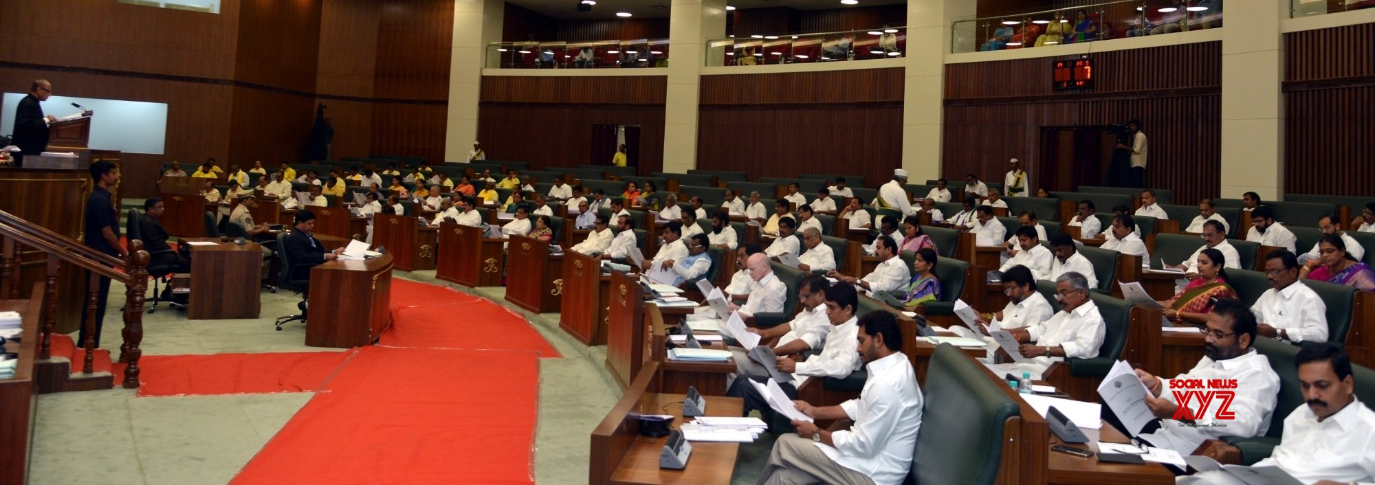 Amaravati: Third day of the new Andhra Pradesh Assembly's first session #Gallery
