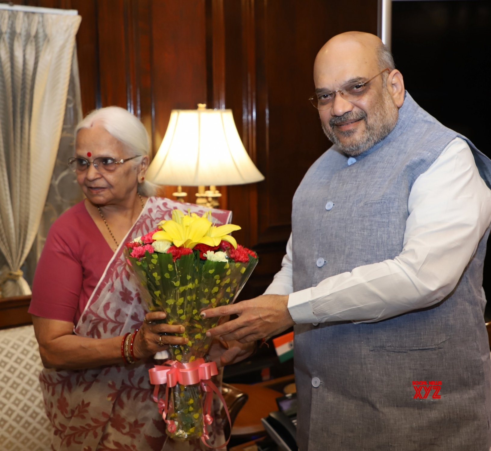 New Delhi: Goa Governor meets Amit Shah #Gallery